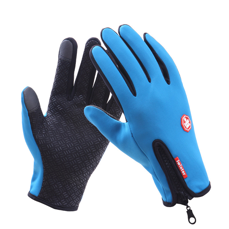 UYUK Синий цвет Тип XL перчатки today touch screen gloves grey o s