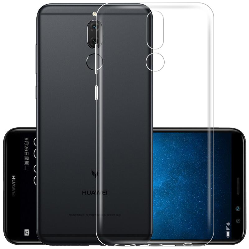 JD Коллекция Прозрачная белая мягкая оболочка Huawei головка 6 кола 360 f5 телефон оболочки тпу прозрачный силиконовый чехол мягкой оболочки для мобильных f5 360