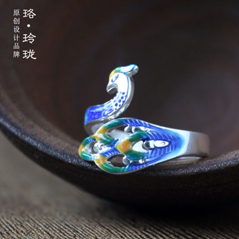 luolinglong Регулируемый размер peacock shaped swimming ring