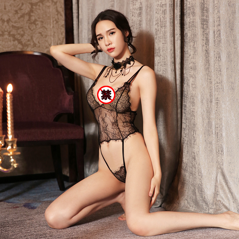JD Коллекция си ли люди сексуального женского белья сексуального кружева костюм три точки перспективы соблазн униформы полюса танец см