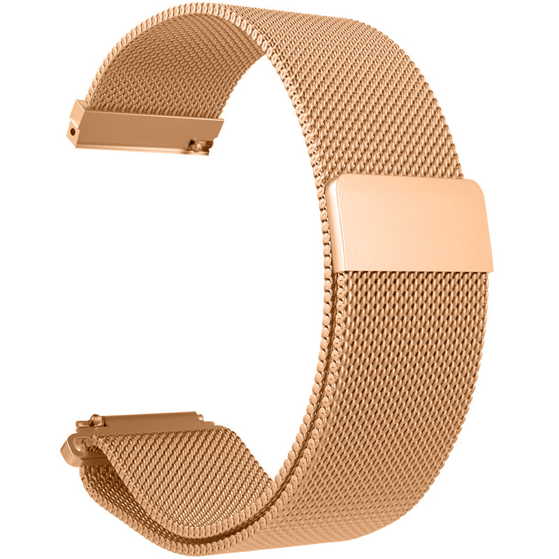 Фото - Ecsem розового золота new arrivals 2017 milanese magnetic loop stainless steel band strap bracelet for asus zenwatch 2 mar27