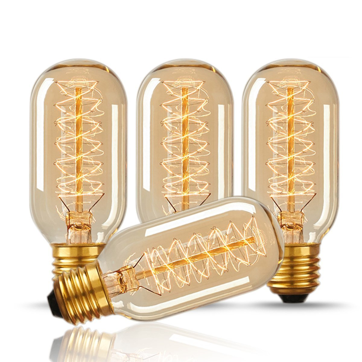 BOKT st64 edison bulb led e27 love dimmable vintage filament retro lamp light fixture 220v 4w lighting 2300k amber gold clear glass