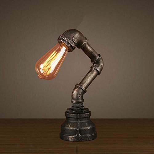 BOKT loft style industrial water pipe lamp vintage wall light for home antique bedside edison wall sconce indoor lighting