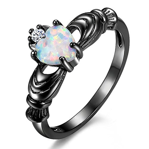yoursfs черный 8 yoursfs фирменное сердце кольца сердце кольцо комплект для женщин анель включает кольца кольцо обручального кольца падения
