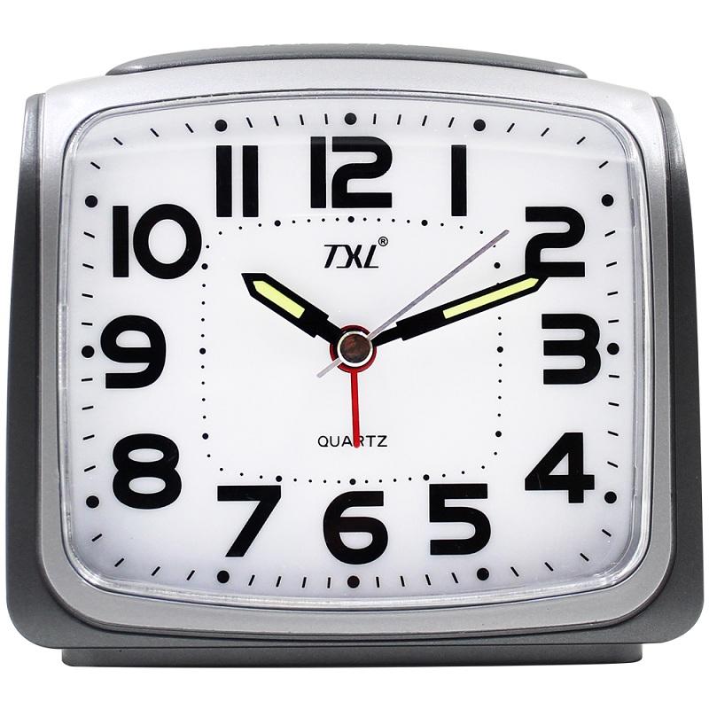 TXL Светло-серый jumbo digital alarm clock large lcd display wall clock huge screen display snooze student room full vision display table clock