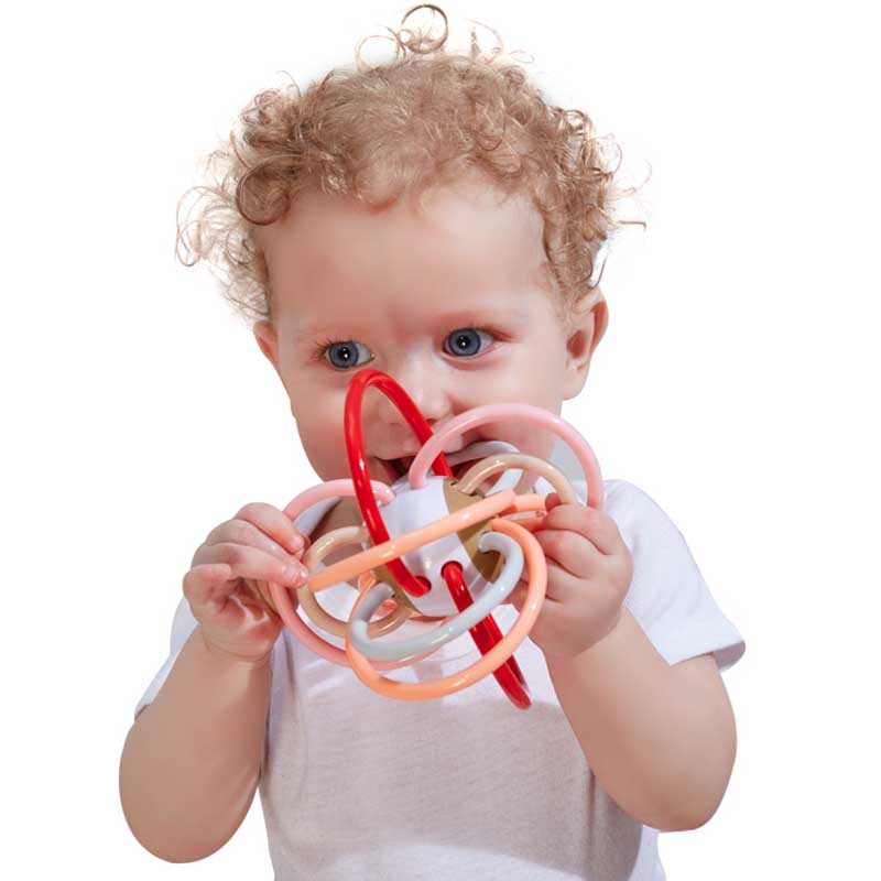 JD Коллекция Manhattan розовый шарик дефолт ulti керри aozhijia раннего детства образовательные детские игрушки умиротворить manhattan кэдди gutta молочные зубы могут укусить схватив мяч 1688 a