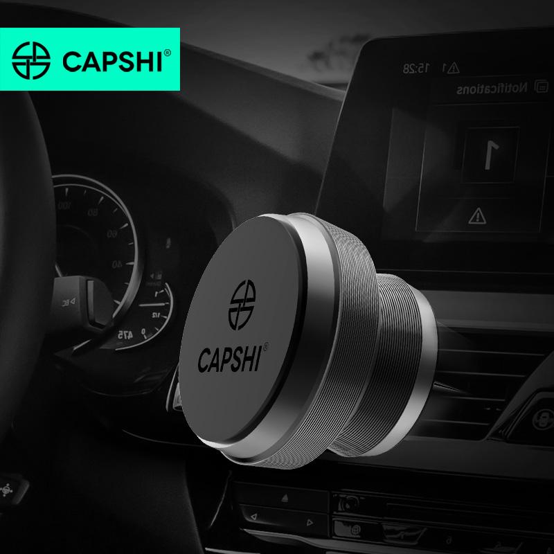 Capshi Магнитный кронштейн - сплав Deluxe Edition черный