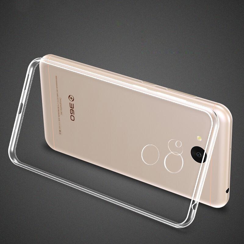 JD Коллекция дефолт дефолт кола 360 f5 телефон оболочки тпу прозрачный силиконовый чехол мягкой оболочки для мобильных f5 360