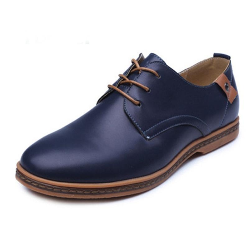 MEGIR Синий цвет 9 ярдов 9 кабинета досуг вентиляция мужская обуви туфли мода поп ст
