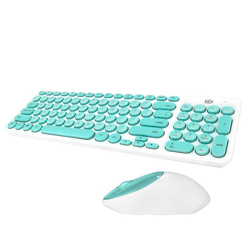 JD Коллекция fuld ik3320p проводная клавиатура и мышь набор настольный ноутбук клавиатура и мышь набор черный бизнес офис дома