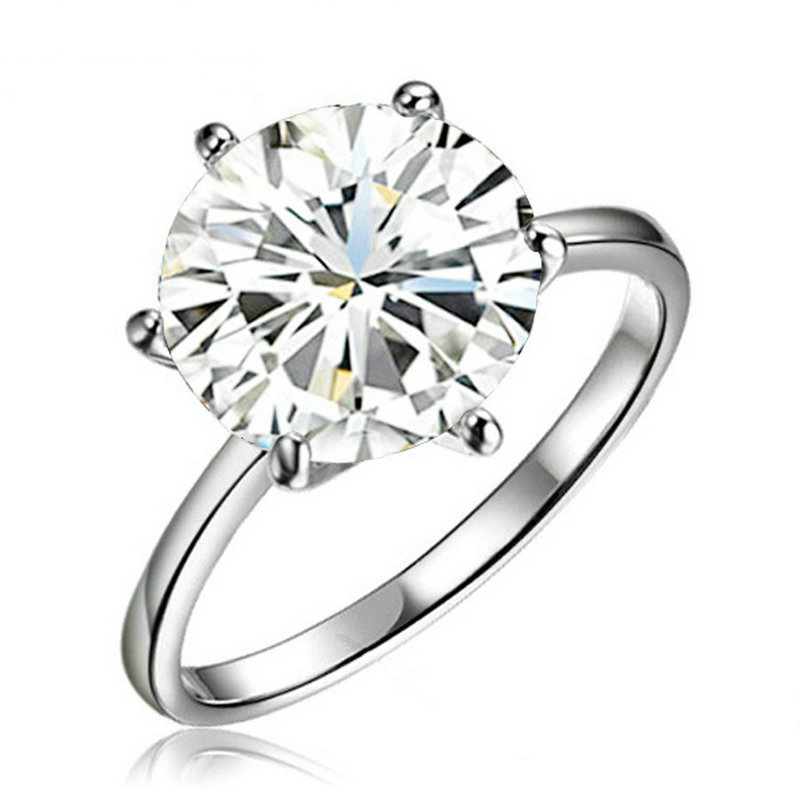 yoursfs White 9 yoursfs® 18k white gold plated 1 2ct simulated diamond promise rings используйте австрийские ювелирные украшения из кристалла