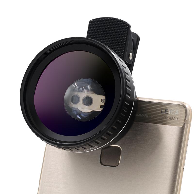 LIEQI Профессиональный черный комбо 1 universal 3 in 1 0 67x wide macro lens 180 degrees fish eye lens for cellphone black