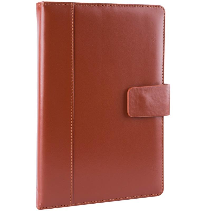 JD Коллекция дефолт 25k96 страницы коричневый обширный guangbo 16k96 чжан бизнес кожаного ноутбук ноутбук канцелярского ноутбук атмосферный магнитные дебетовые коричневый gbp16734