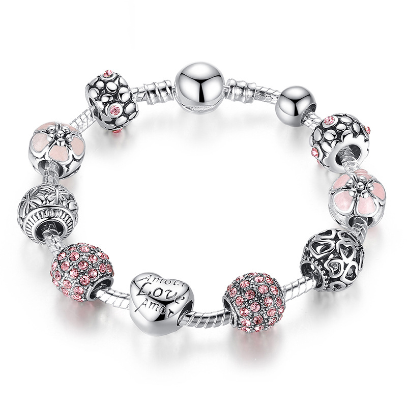 Baffin Розовый цвет женские браслеты jv женский серебряный браслет с ларимарами кайонитами аквамаринами топазом и культив жемчугом b5002 aq bt k lr ww wg 17