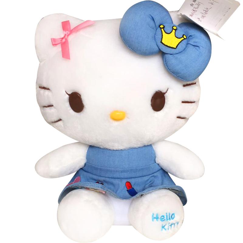 JD Коллекция 3 вышитой джинсовой модели KT-B 30x22 см детская плюшевая игрушка hello kitty 7 kt kphk0016