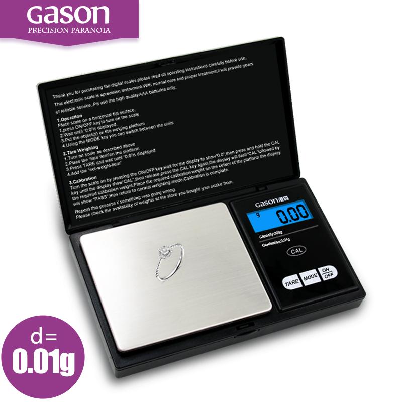 Gason 500г х 0 01 г цифровые весы карманные ювелирные изделия вес весы баланс точности