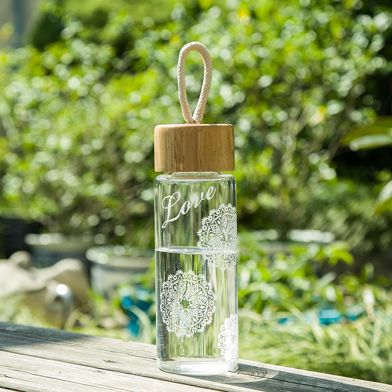 Cypress Home Белый цвет Стеклянные материалы usb rechargeable 500ml healthy portable hydrogen rich water cup transparent glass bottle with lid