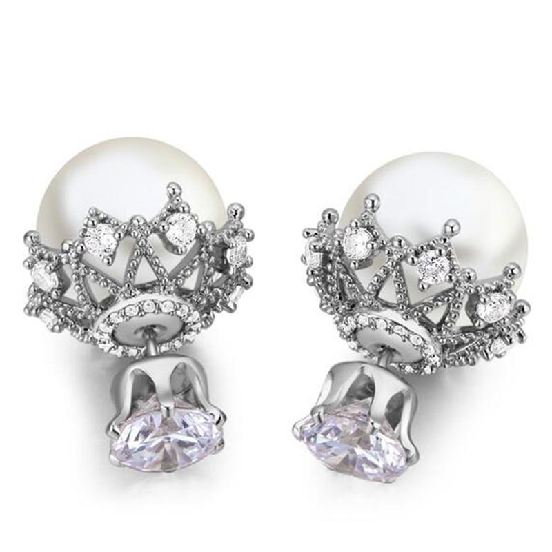 SHDEDE White kaiya si gaia spearl жемчужные серьги 925 серебряных пресноводных жемчужные серьги жемчужные серьги серьги бабочки великолепна женщина