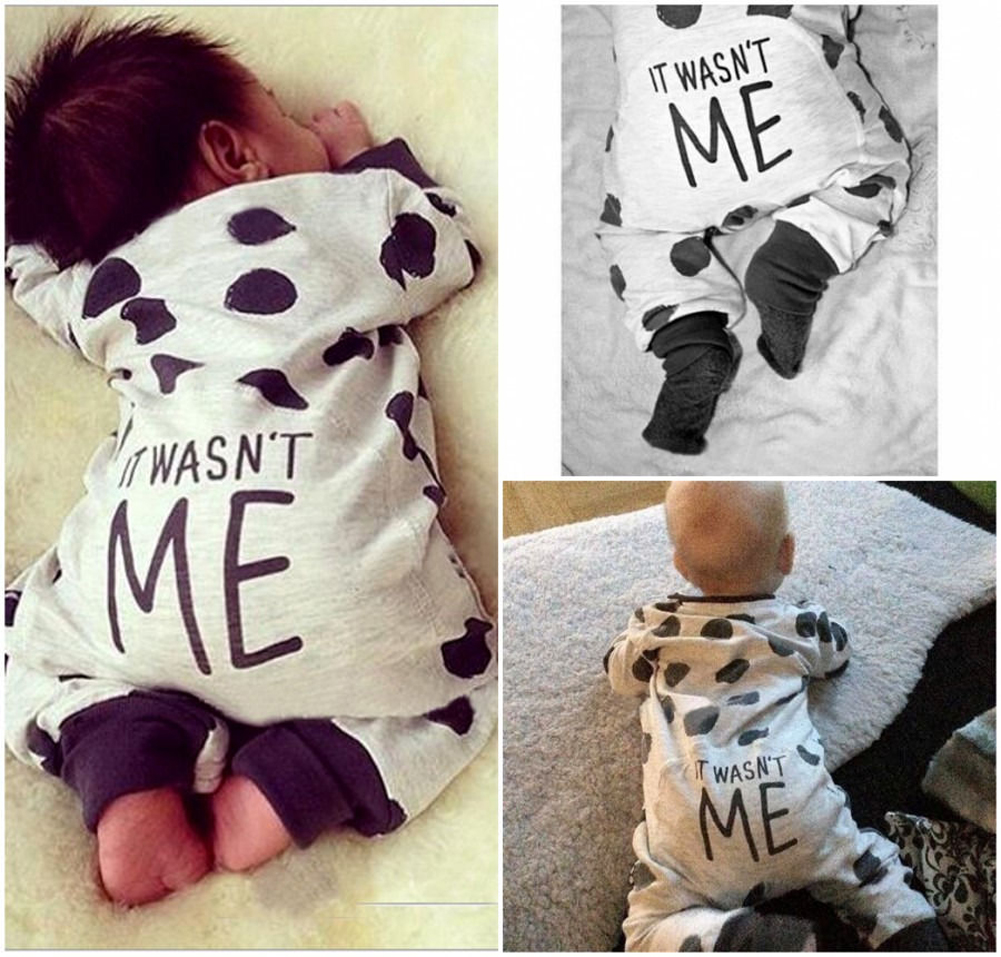 CANIS 70 newborn baby boy girl infant warm cotton outfit jumpsuit romper bodysuit clothes