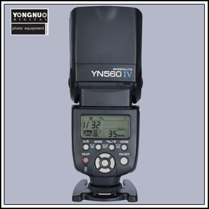 EACHSHOT yongnuo yn560 iv yn560iv wireless master slave flash speedlite for canon nikon pentax olympus fujifilm panasonic dslr cameras