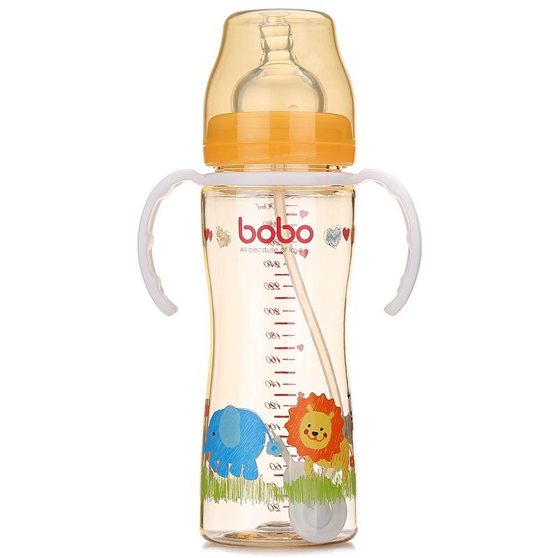 JD Коллекция Оранжевый Классический 300мл элитный флакон с каплями для бутылок стандартного калибра с защитной втулкой