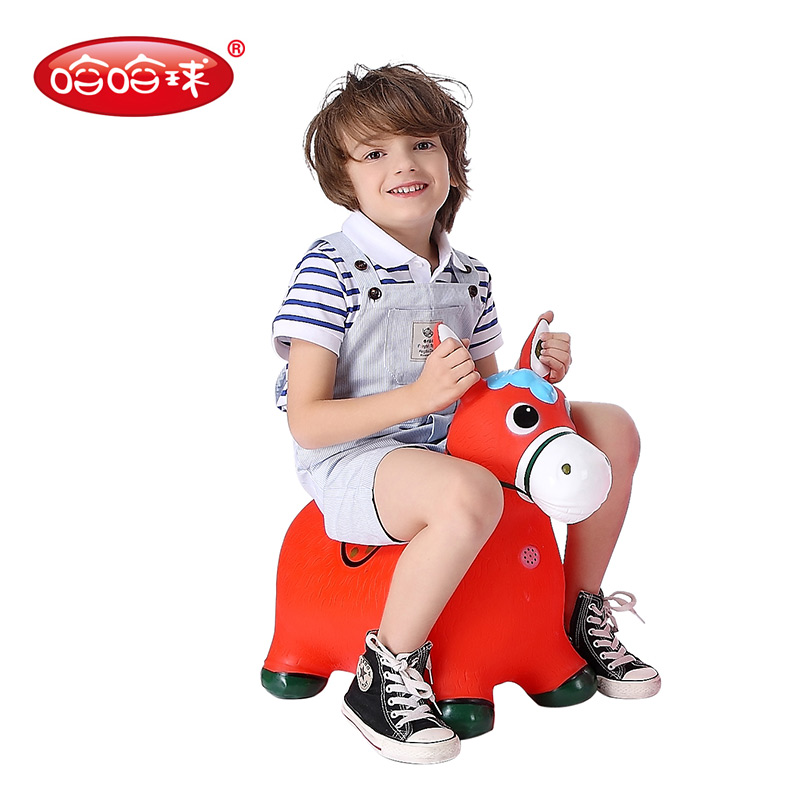 JD Коллекция Красный горячие модели дефолт children horse rocking horse wood rocking horse toy baby rocking chair dual purpose baby gift