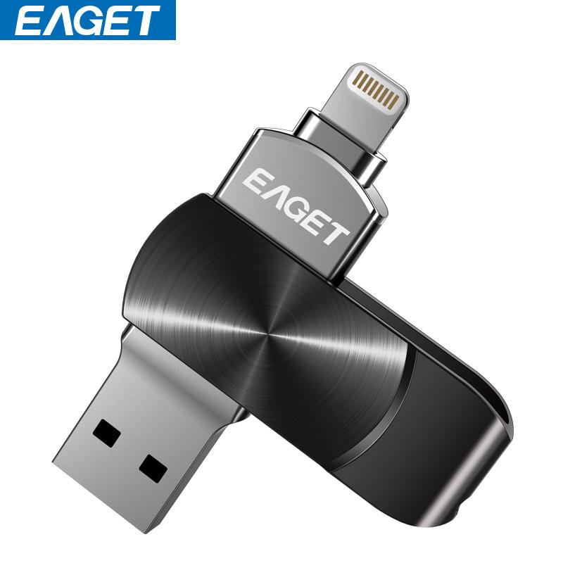 EAGET U диск Apple любители - черный 16G eaget v80 otg 16g флэш диск
