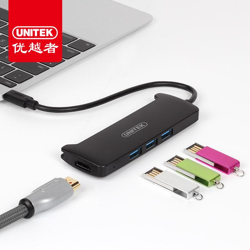 JD Коллекция Конвертер Type-c в HDMI HUB дефолт capshi type c hdmi конвертер usb c3 1 к разъему адаптера hd кабель hdmi головки адаптированного apple tv проектор подключенный macbook