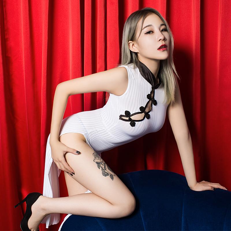 JD Коллекция xi luo man костюм сексуальное женское белье сексуальное искушение кружева сорочка кусок см полюса танец форма