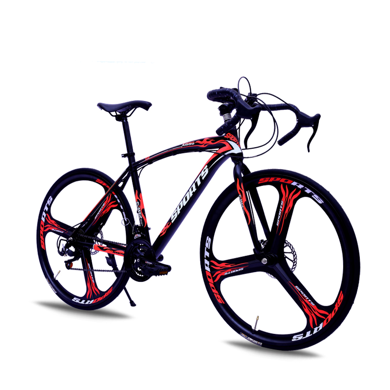 BYUEBIKE в целом три колеса черный и красный нож 27 скорость rev ritter 32390 7