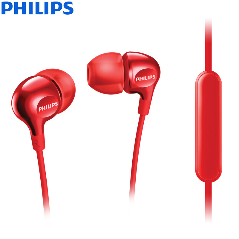 PHILIPS SHE3705 красный дефолт philips 22 pft 4000