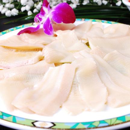 【唐人基】美人鲍片150g 鲜冻海鲜 火锅料理菜品 澳门豆捞菜品