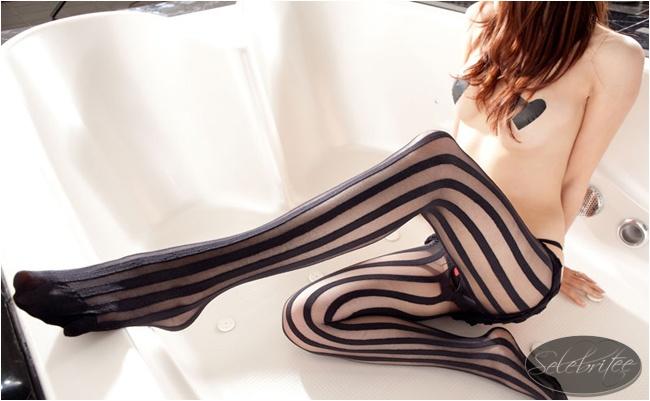 美国selebritee 情趣内衣连体装性感连体袜