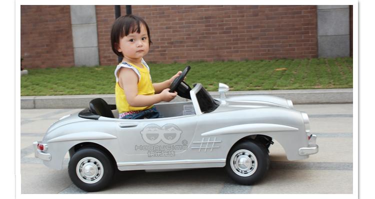 快乐年华 儿童电动车 奔驰300sl 电动童车 玩具车 四轮儿童车 电动汽车