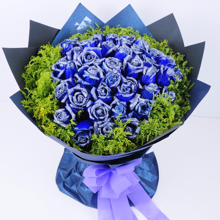 蓝玫瑰手工制作过程视频