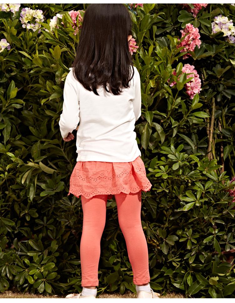 紧身儿童打底裙裤