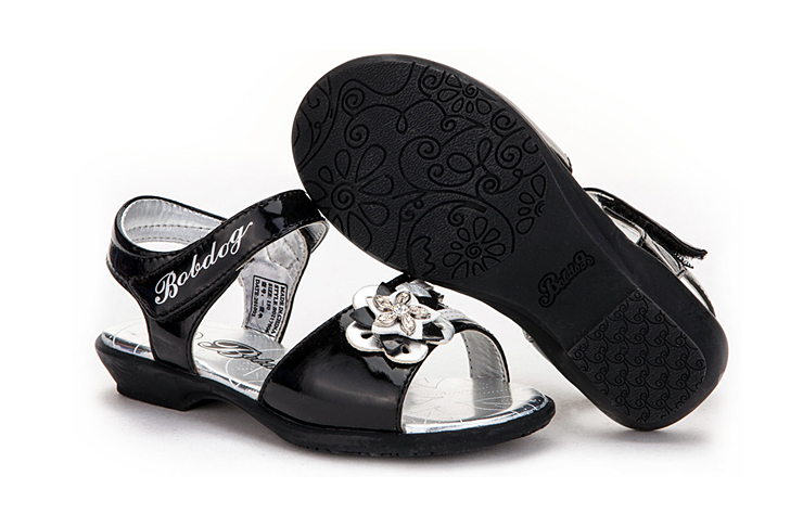 小女童时尚公主凉鞋