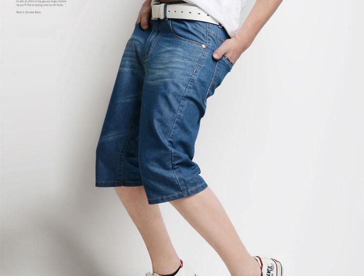 夏季超薄款牛仔裤