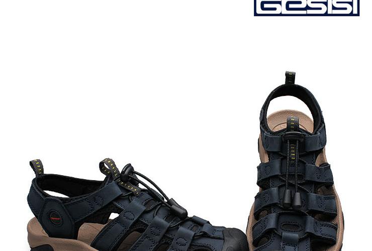 革士士gesisi牛皮凉鞋