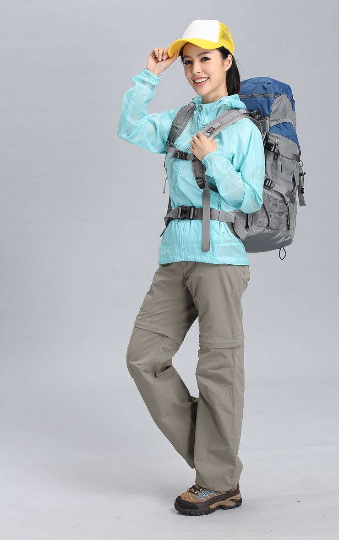 takaka塔咔咔户外运动防晒衣 女士休闲超薄便携防水防紫外线皮肤风衣
