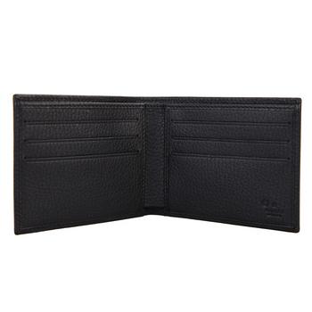 cucci/古驰 男士帆布黑色钱包