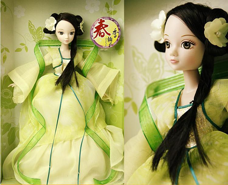 芭比娃娃梳古装发型分享展示图片