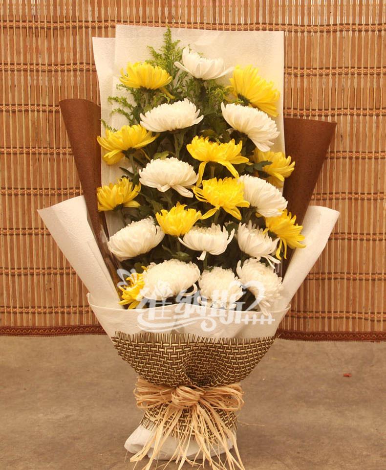 清明节鲜花 鲜花速递 扫墓花束