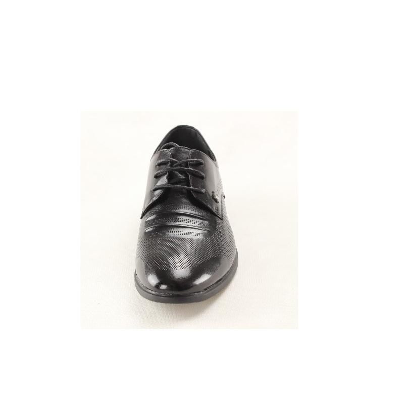 香港蜘蛛王男鞋夏季新品男式尖头系带正装皮鞋8930