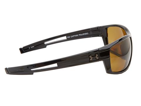 black polarized sunglasses  black frame w/ black