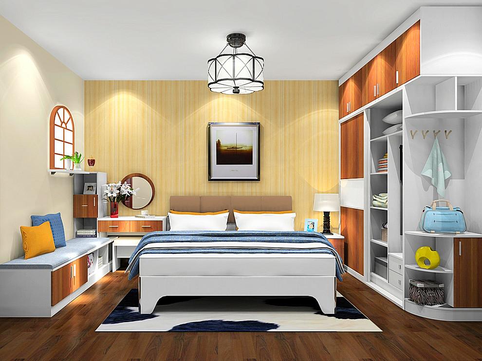 尚品宅配 衣柜 整体衣柜 电视柜 床头柜 梳妆台定制 免费设计 上门图片