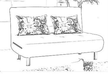 手链黑白设计图手稿展示图片