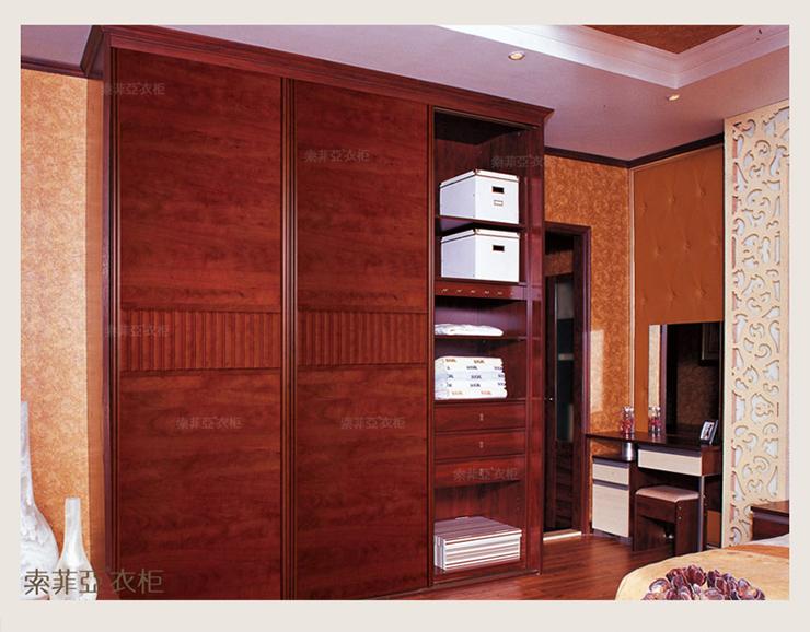 平板门整体衣柜