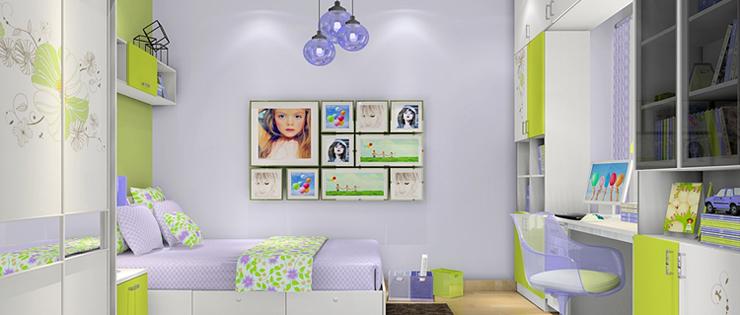 尚品宅配订制宜家儿童房家具书柜自由组合家具套装