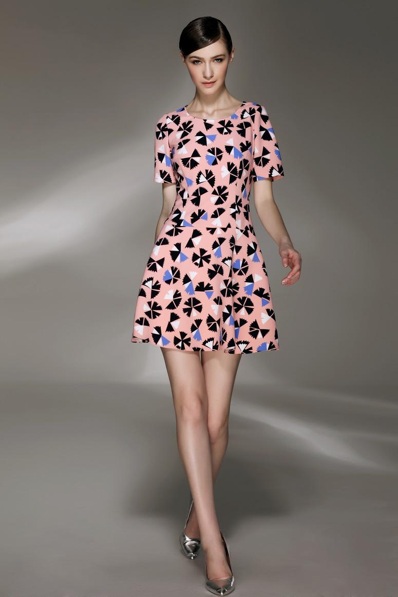 款式: x收腰连衣裙.图片